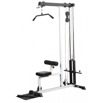 YORK FTS POULIE LAT PULL DOWN & LOW ROW MACHINE