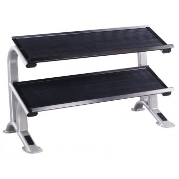 YORK STS RACK HALTERES DOUBLE PLATEAU