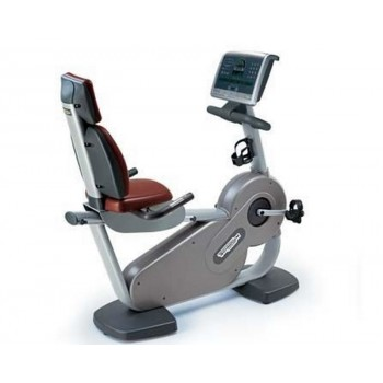 TECHNOGYM EXCITE VELO SEMI-ALLONGE 700 OCCASION RECONDITIONNE. LIVRAISON GRATUITE