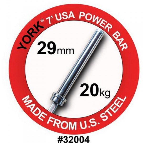 YORK BARRE OLYMPIQUE MEN'S ELITE OLYMPIC POWER BAR