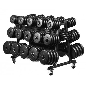 YORK RACK MOBILE & 20 KITS AEROBIC FITNESS CLUB