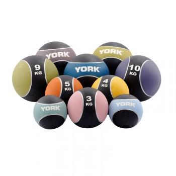 YORK MEDECINE BALL CLASSIQUE PRO DE 1 A 10KG