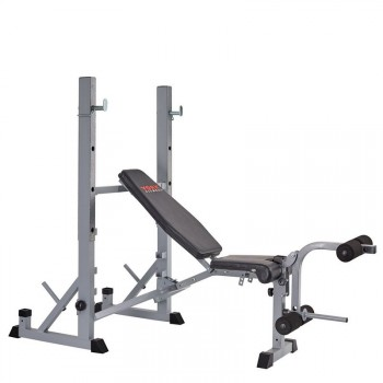 YORK FITNESS 540 BANC DEVELOPPE & SQUAT RACK
