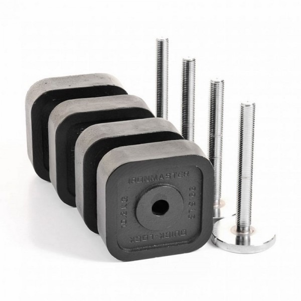 IRONMASTER KIT 75 KG POUR HALTERES QUICK LOCK DUMBBELL
