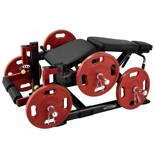 STEELFLEX PLATE LOAD SERIES LEG CURL MACHINE PLLC