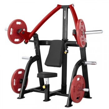 STEELFLEX PLATE LOAD SERIES SEATED INCLINE CHEST PRESS PSIP
