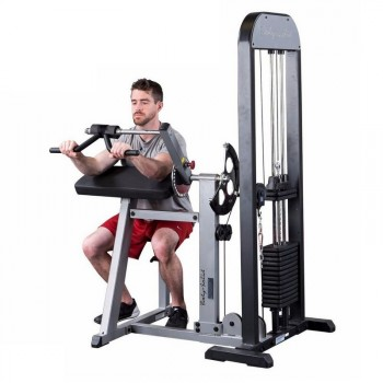 BODY-SOLID PRO SELECT BICEPS & TRICEPS MACHINE GCBT-STK
