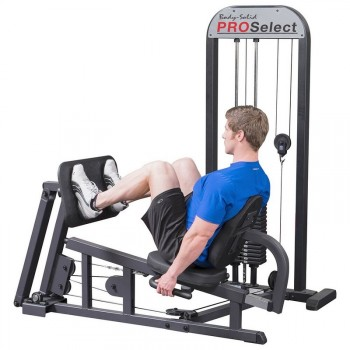 BODY-SOLID PRO SELECT LEG PRESS & MOLLETS MACHINE GLP-STK