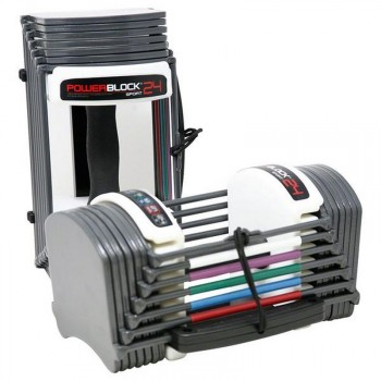 POWERBLOCK SPORT 24 SET HALTERES AUTOMATIQUES