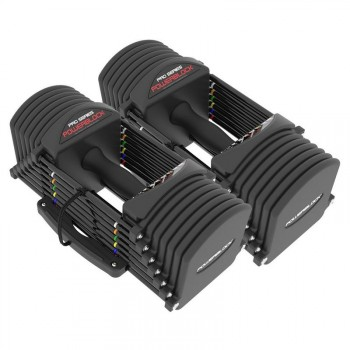 POWERBLOCK PRO 32 SET HALTERES AUTOMATIQUES