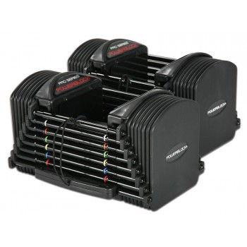POWERBLOCK PRO SERIES 50 SET HALTERES AUTOMATIQUES