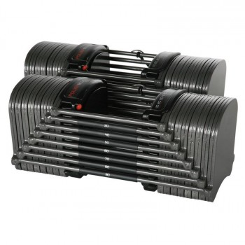 POWERBLOCK SPORT EXP SET 5-90 HALTERES AUTOMATIQUES
