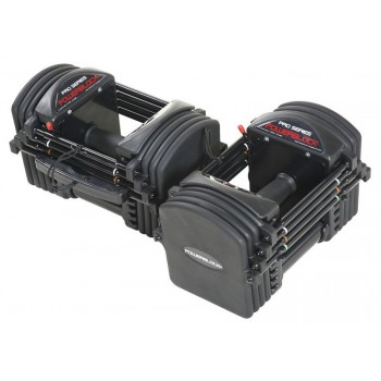 POWERBLOCK PRO EXP SET 5-50 HALTERES AUTOMATIQUES