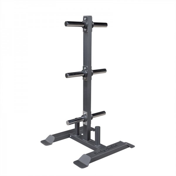 BODY-SOLID RACK VERTICAL DISQUES ET BARRES OLYMPIQUES GWT56