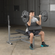 BODY-SOLID OPTION PREACHER CURL GPCA-1