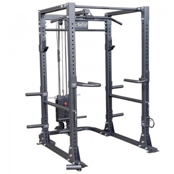 BODY-SOLID POWER RACK GPR400 FO FULL OPTIONS