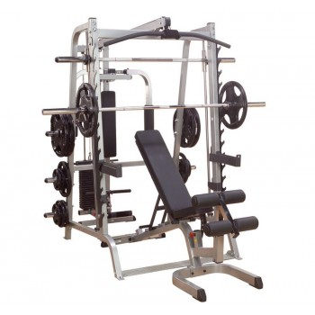 BODY-SOLID SERIES 7 SMITH MACHINE FULL OPTIONS GS348FB-25S