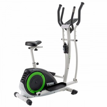 YORK FITNESS VELO DROIT & ELLIPTIQUE ACTIVE 120 2 IN 1