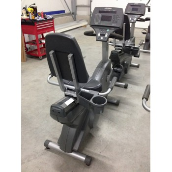 LIFE FITNESS VELO SEMI ALLONGE 95Ri OCCASION/RECONDITIONNE