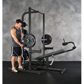 Half Rack & Smith Machine